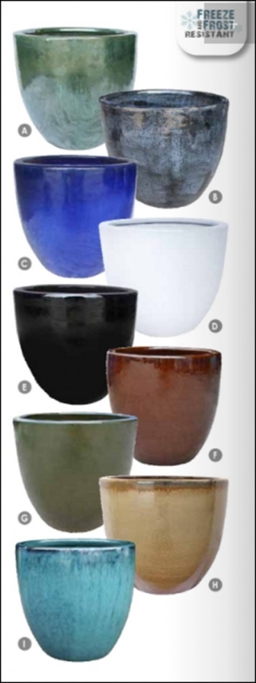 Michael Carr Egg Planter